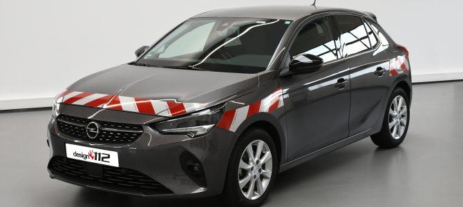 Opel Corsa F – passgenaue Warnmarkierung neu im Sortiment