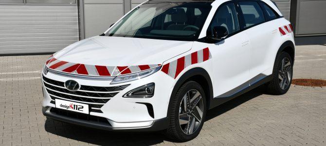 Hyundai Nexo – Warnmarkierungssatz gemäß DIN 30710