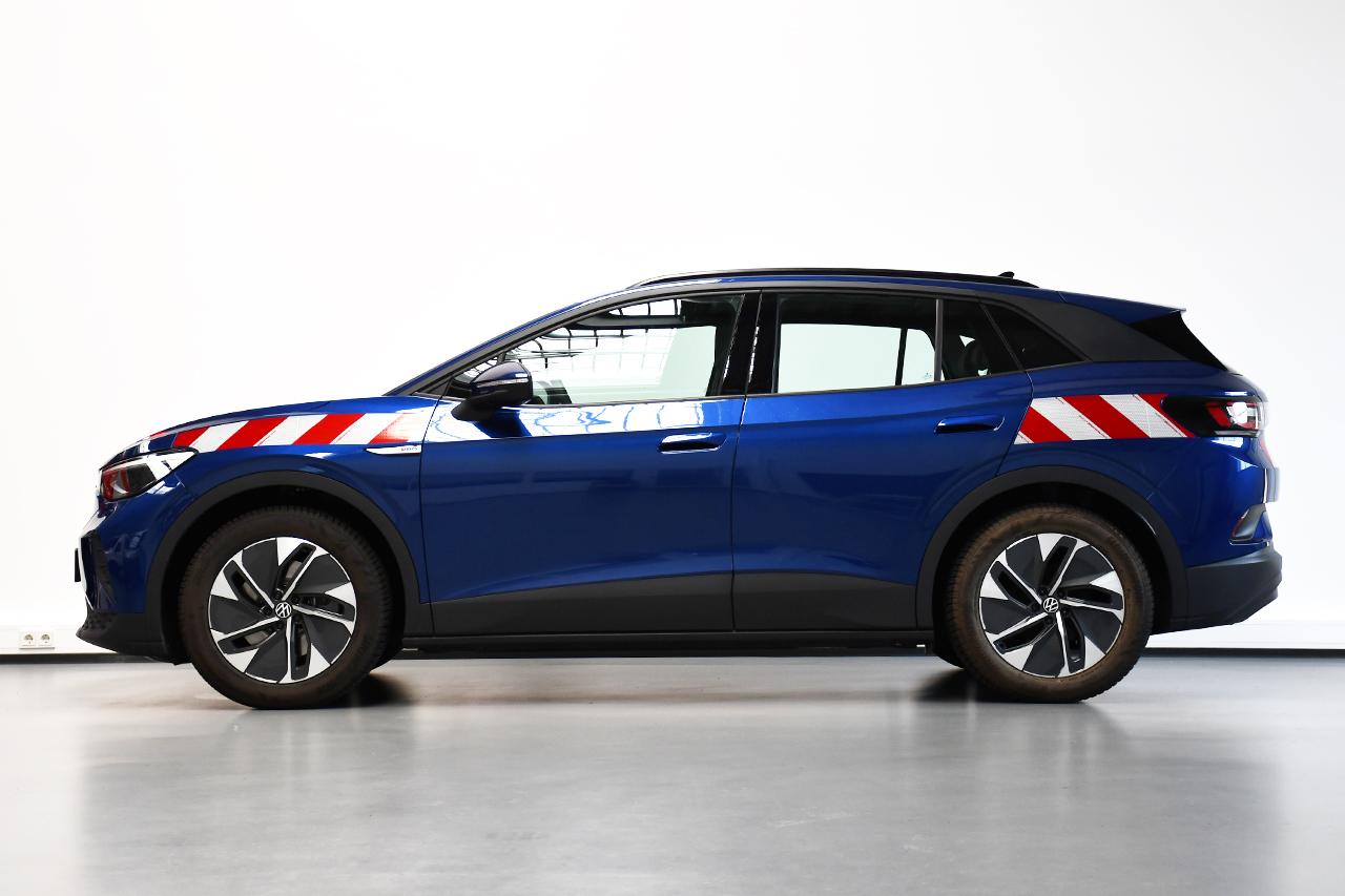 VW ID.4 – Passgenaue Warnmarkierung nach DIN30710